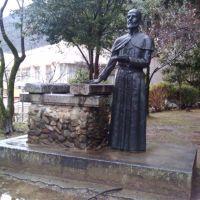 ザビエル記念聖堂 ザビエル像, Токуиама