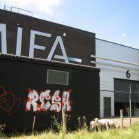 Mifa vanaf de Maas, Venlo, Венло