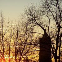 zonsondergang Venlo / sunset Venlo, Венло