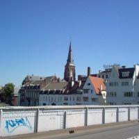 Kerk vanaf Sint Servaasbrug, Маастрихт