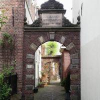 Deventer: Ingang Jordenshof, Девентер