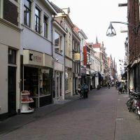 Deventer: Blik in de Nieuwstraat, Девентер