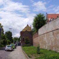 Stadswal vanaf Bokkingshang, Девентер