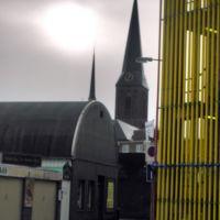 Kerk en parkeergarage, Хенгело