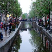 Cada rincón un canal, un deleite. ---Every corner a channel, a delight, Амстердам