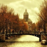 Amsterdam in Autumn Mood, Амстердам