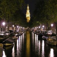 Amsterdam at night, Амстердам