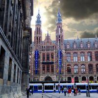 Estación Central en Amsterdam dedicada a todos los amigos de Paises Bajos --Dedicated to all friends from Netherland, Амстердам