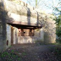 Festung IJmuiden - W.N 109   Festung HauptQuartier R117(1)bunker - eingang, Велсен
