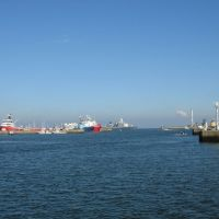 Den Helder - Het Nieuwe Diep - View ENE out of the Harbour, Ден-Хельдер