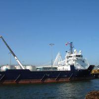 Den Helder - Het Nieuwe Diep - Offshore Ships Paleiskade - View NW, Ден-Хельдер