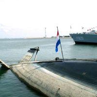 U-Boot im Marinehaven Den Helder ..., Ден-Хельдер