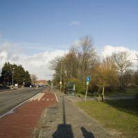 Den Helder - Huisduinerweg - View NE along Gemini Ziekenhuis, Ден-Хельдер