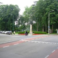 Monument in Wilhelminapark, Бреда