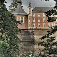 Het kasteel van Breda gezien vanuit het Valkenberg, Бреда