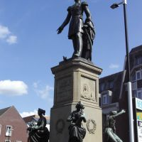 Statue of King William II - Heuvel - Tilburg NL, Тилбург