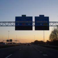 NL A58 afrit Hilvarenbeek, Тилбург