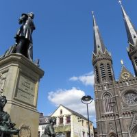Statue King Willem II (new location) - Tilburg, Тилбург