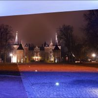 A neon castle view, Helmond, The Netherlands, Хелмонд