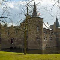 Medieval castle with castle-moat (± 1330 A.D.), Helmond, The Netherlands, Хелмонд