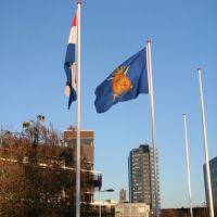 Vlaggen Lt. Gn. Knoopkazerne en Domtorentop; Utrecht, Амерсфоорт