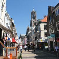 Dom-tower seen from Steenweg, Utrecht, Амерсфоорт