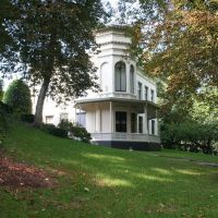 Villa in het Zocherpark, Zomer, Амерсфоорт