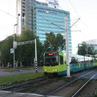 Tram over het Westplein; Utrecht, sept. 2009, Амерсфоорт