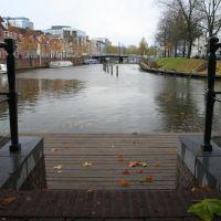 Herstelde Weerdsingel vanaf de Bemuurde Weerd Oostzijde, Utrecht, Амерсфоорт