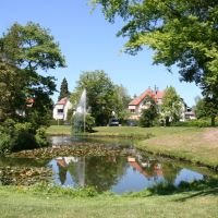 Wilhelminapark and fountain, Zeist., Зейст