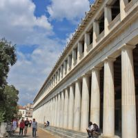 Stoa of Attalos., Афины