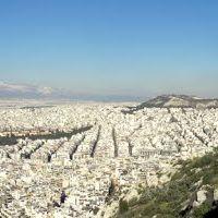 Πανοραμική Αθήνας  από Λυκαβηττό - Panoramic of Athens from Lycabettus hill, Афины
