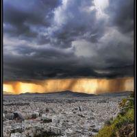 Καταιγίδα - Thunderstorm, Афины
