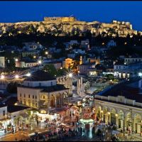 ACROPOLIS - Blue Nights in Athens - {Plaka} - Old historical area - UNESCO World Heritage - Greece - [By Stathis Chionidis] / Αφιερωμενη στη Δεσποινα, Афины