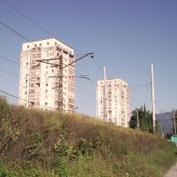 Гагрские дома / Houses in Gagra, Гагра