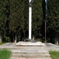 Монумент в Центральном парке, Гудаута