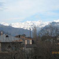 Вид на горы., Гудаута