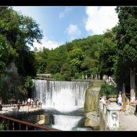 Abkhazia. New Athos. Falls., Новый Афон