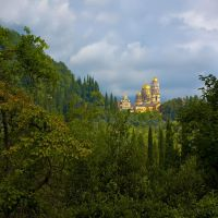 Новоафонский монастырь (New Athos monastery), Новый Афон