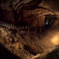 <i> New Athos. New Athos Cave / Афон Ҿыцтәи аҳаҧы / Новый Афон. Новоафонская пещера. Зал Махаджиров, Новый Афон