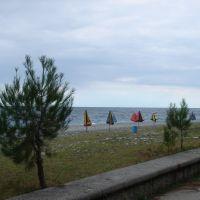 Picunda, beach, Пицунда