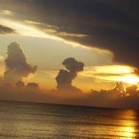 Пейзажи неба. Абхазия, Пицунда