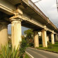ЖД мост в Сухуме - Railway bridge in Sukhum, Сухуми