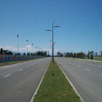 Lech and Maria Kaczynski street in Batumi, Батуми
