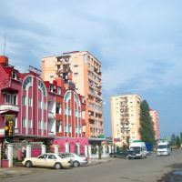Leonidze street, Batumi, Батуми
