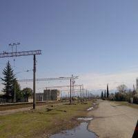 railway abasha, Абаша
