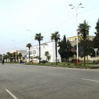 View of Abasha City  – ქალაქ აბაშის ხედი, Абаша