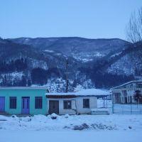 ამბროლაური/Ambrolauri town, Ratcha region, Georgia, Амбролаури