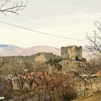 Aspindza Fortress.View from SO ასპინძის ციხე, Аспиндза