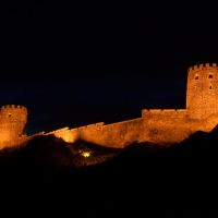 Orange lights in Rabati fortress, Ахалцихе